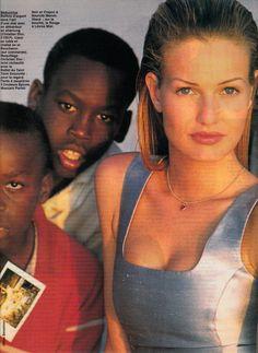 ☆ Karen Mulder | Photography by Gilles Bensimon | For Elle Magazine France | July 1992 ☆ #karenmulder #gillesbensimon #elle #1992