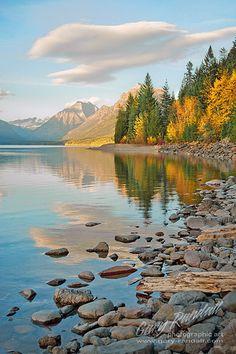 Lake McDonald, Glacier National Park -- 'Montana Autumn Afternoon' by Gary Randall Landscape Photography, Nature Photography, Scenic Photography, Night Photography, Landscape Photos, Places To Travel, Places To See, Parque Natural, Glacier National Park Montana