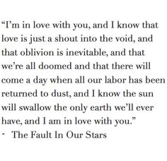 """and I am in love with you."" (Not ""but I am in love with you."")"