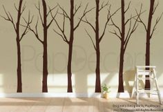 Custom Color PopDecors - Set of Six Winter Cool Tree (102inch H) - removable vinyl art wall decals stickers decal sticker mural Pop Decors,http://www.amazon.com/dp/B009RRUADE/ref=cm_sw_r_pi_dp_3OUFsb0XGM802PJN