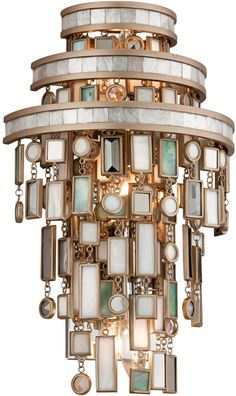 Wall Sconce - Corbett Lighting Dolcetti Wowser! Would like a look-a-like for ceiling fixture!