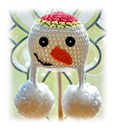 cute snowman hat!...gonna make my own form of this
