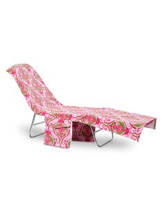 Take a look at this Pink Victoria Lounge Chair Cover by Buckhead Betties on #zulily today!