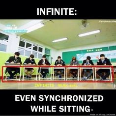 This is the 99.9% synchronisation people!