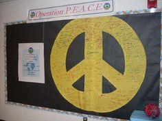 Operation PEACE Project | Bowles Elementary | Bowles Elementary began an ongoing service learning, community-action initiative called Operation PEACE Project which stands for People, Environment, Animals, Concern, for Everyone. This has been an incredible experience for students to further empower themselves with character and service learning opportunities. We have specifically reached out to honor our public safety workers, help the sick and needy, and beautified our Bowles school grounds.