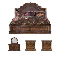 Montana 5-piece Platform King-size Bedroom Set - Free Shipping Today - Overstock.com - 15709242 - Mobile