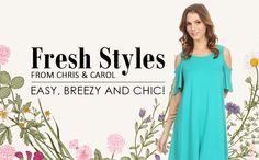 Get fresh for spring! Visit Chris & Carol for new styles you'll love!  http://www.fashiongo.net/chriscarol  #fashiongo #fashion