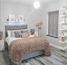 Teen Bedroom Designs, Bedroom Decor For Teen Girls, Teen Room Decor, Room Ideas Bedroom, Girl Bedrooms, Teen Bedroom Decorations, Room Girls, Design Bedroom, Kids Room