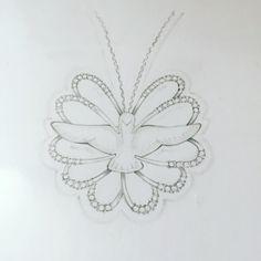 Espirito Santo lapidação especial, design joias, desenho, pingente