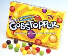 Gobstopper Wonka Brand dextrose base candy