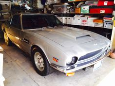 This 1976 Aston Martin V8 Vantage LHD 5-Speed is a matching numbers example and an amazing find. It comes finished in a very attractive color combination (silver over red leather interior) and is in excellent condition overall. Chassis No. V8/11535/LCA is a rust free California car with 58k miles. 5-speed cars are very hard to come by and highly desirable. A superb buy at only $105,000 #gullwingmotorcars #classiccars #buy&sellclassiccars #VintageCarBuyer #ClassicCar  #antiqueCarBuyer