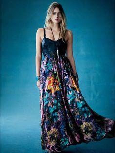 Free People FP New Romantics In Babeland Dress