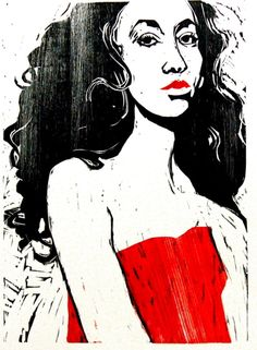 Red Dress by Peter Polaine