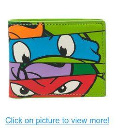 Teenage Mutant Ninja Turtles Faces Bifold Wallet