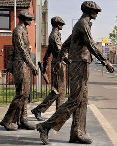 The Yardmen East Belfast northern Ireland.