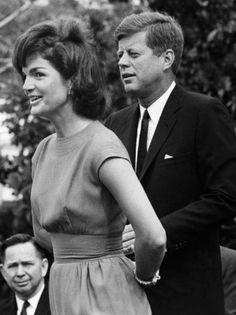 John F. Kennedy couple