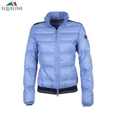 Equiline Ruby Jacket - Sky Blue - £157