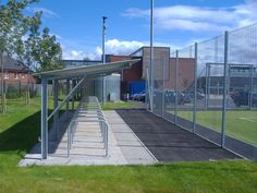 The FalcoTel range is another popular modular cycle shelter capable of meeting most applications. There are a wide number of configurations of the FalcoTel family from a simple open canopy or double sided unit to a secure lockable store or wall mounted canopy.   http://www.falco.co.uk/products/shelters-canopies-cabins/cycle-shelters/falcotel-e-cycle-shelter/