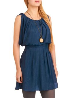 Aquarius Rising Dress by ModCloth. Adorable, but is it worth all of my 'play money' for the rest of the month? Cute Summer Dresses, Cute Dresses, Cute Outfits, Retro Vintage Dresses, Altering Clothes, Office Outfits, Dress Me Up, Dress To Impress, Aquarius Rising
