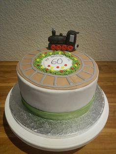 Eisenbahn Geburtstagstorte