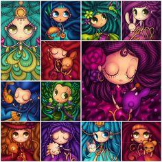 Signos del zodiaco Anita Mejía