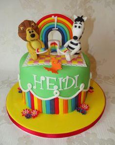 Raa Raa and Zebby cake