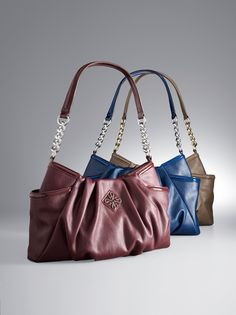 394619bd53 Update your handbag with fall colors from Simply Vera Vera Wang.  Kohls  Fall Handbags