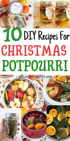 10 DIY Christmas Potpourri Recipes That Smell Amazing – DIY With My Guy Best Christmas Potpourri Recipes To Bring Cheer Into Your Home! These Stovetop Potpourri Recipes Are A Healthy Natural Fragrance. Homemade Potpourri, Potpourri Recipes, Homemade Gifts, Christmas Scents, Homemade Christmas, Simple Christmas, Diy Christmas, Christmas Tables, Christmas Parties