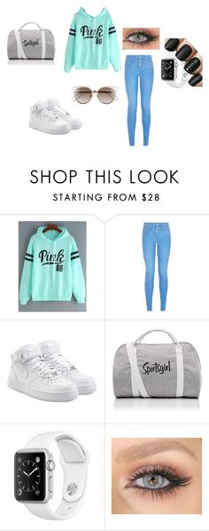"""""""Preppy atheletic"""" by alyssasr013 on Polyvore featuring NIKE and Christian Dior"""