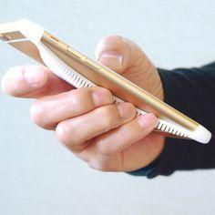 マンタ 3Dプリントiphone6専用ケース スタイリッシュなカタチ、持ちやすい形状。 モノサーカス