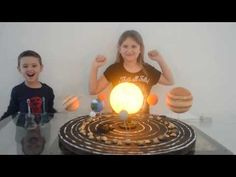 Maquete do sistema solar - YouTube