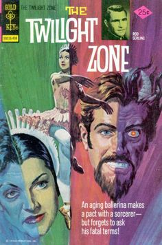 The Twilight Zone Comic #58 Publisher: Gold Key Comics Date: August 1974