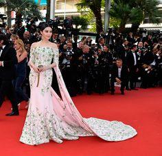 Fan Bingbing de Ralph & Russo Couture - Cannes 2015
