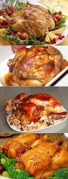 Фаршированная курица – аппетитные начинки на любой вкус / Простые рецепты