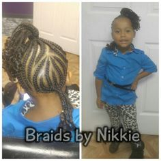 Children's braids Located in Cincinnati Ohio call 5136469355 for booking and pricing.