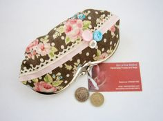 Brown Shabby Chic Glasses Case £14.00
