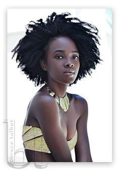 Gold and natural hair….what else is there