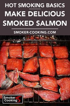 Learn the basics of the hot smoking technique, used to create delicious smoked salmon. Even though it's called hotsmoking, the temperature is lower than when smoking other types of meat. Pellet Grill Recipes, Grilling Recipes, Fish Recipes, Seafood Recipes, Top Recipes, Smoked Salmon Brine, Smoked Salmon Recipes, Smoked Fish Brine Recipe, Salmon Smoker