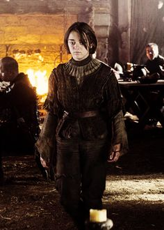 Arya Stark in the tavern, Game of Thrones season 4