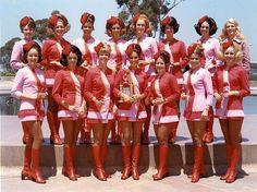 {PSA Flight Attendants} via sixties