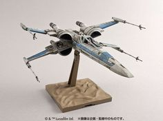 Bandai x Star Wars The Force Awakens 1/72 X-Wing Fighter Resistance 仕様 : ADDED NEW Official Images, Info Release http://www.gunjap.net/site/?p=272950