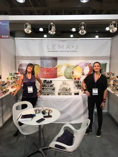 #ICYMI Lema J's fabulous, fashionable & fearless leaders, sisters Jenny & Jill, in #NYC at the @acicshow