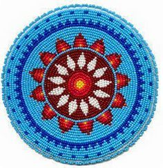 Native American Beadwork, Powwow Regalia, and Beaded Clothing and Accessories. Indian Beadwork, Native Beadwork, Native American Beadwork, Tapestry Crochet Patterns, Crochet Mandala, Loom Beading, Beading Patterns, Mochila Crochet, Crochet Purses