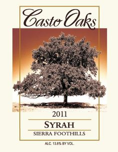 2011 Casto Oaks Syrah 750 mL *** Check out the image by visiting the link.