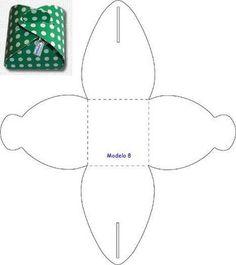patrones para hacer bolsas de regalo - Buscar con Google