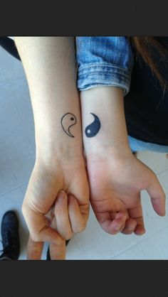 this is our number one pick for couples tattoos....yin and yang