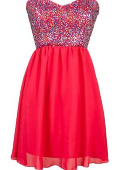 Sparkly red dress ❤
