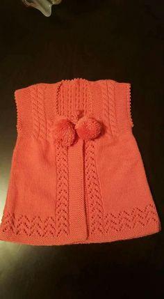 Baby Knitting Patterns, Knitting Designs, Free Knitting, Baby Cardigan, Baby Coat, Dress Neck Designs, Teachers Pet, Moda Emo, Sugar Baby
