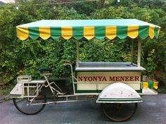 Vintage Indonesian handmade bicycle cart: For Sale
