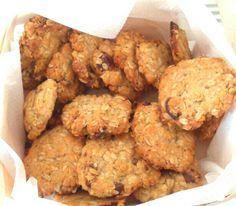 Biscotti con fiocchi di avena per la colazione